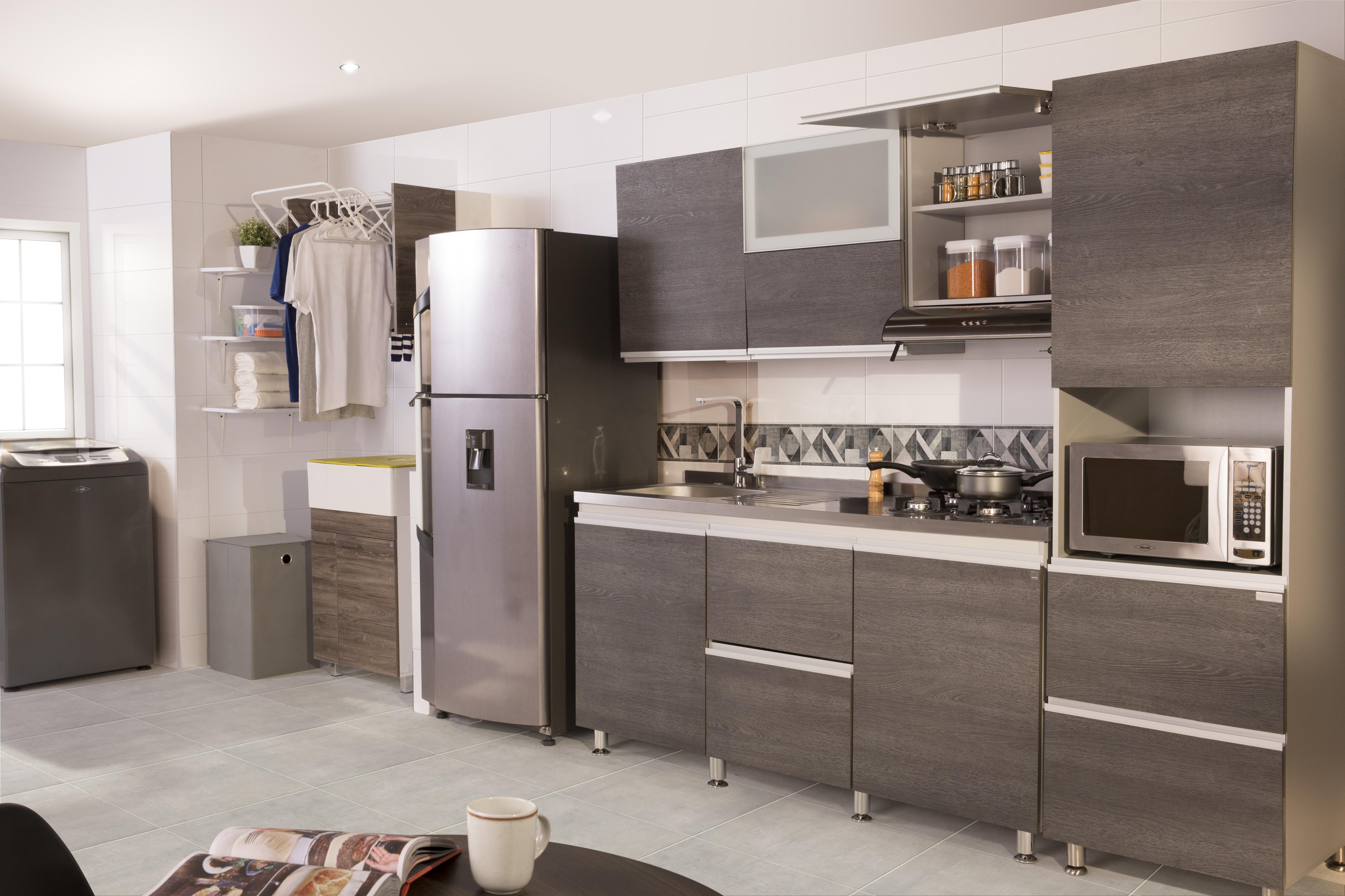 Area de lavanderia areacaribe for Cocina moderna y equipada